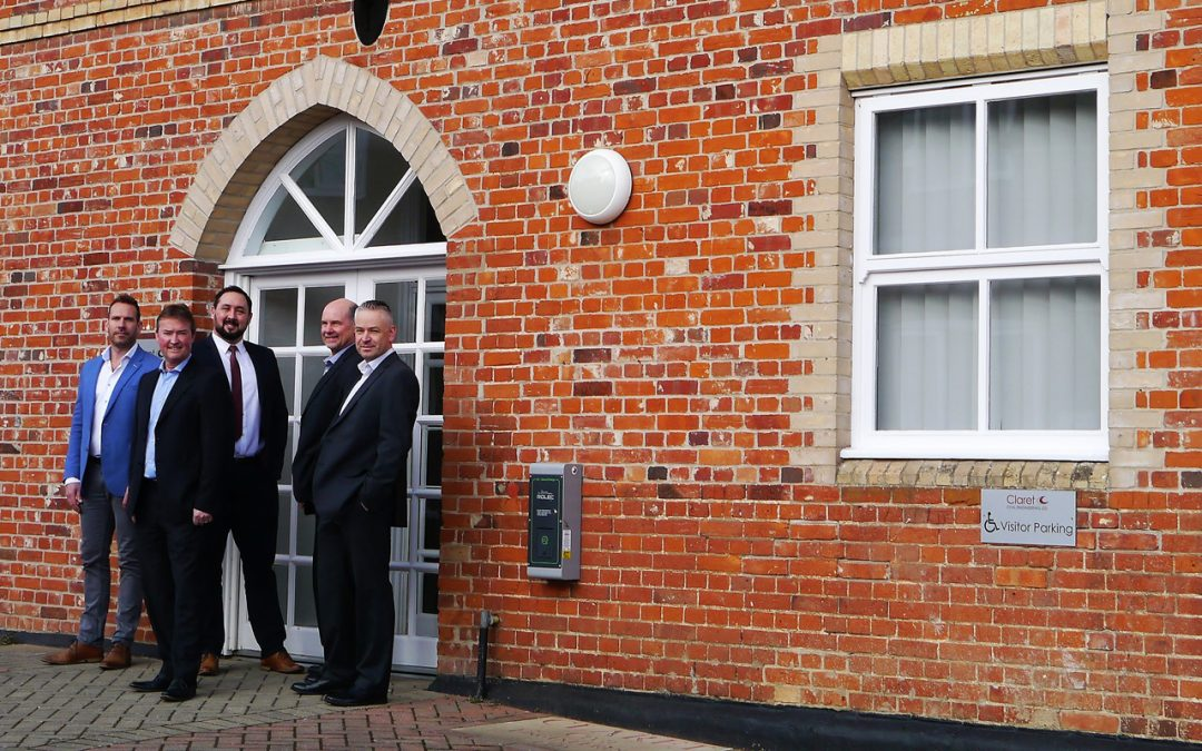 Claret move into New Offices